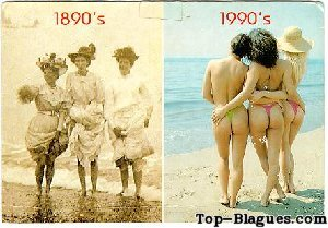 Evolution maillot de bain