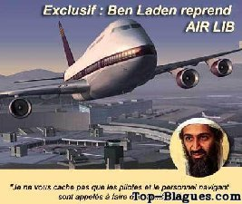 Ben Laden qui reprend Air Lib